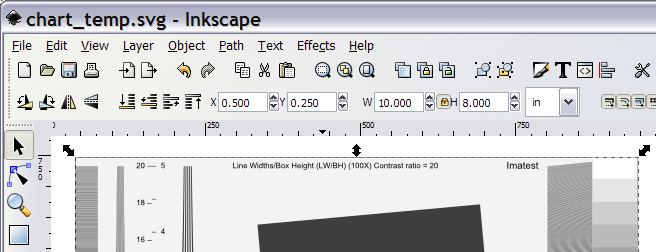 Inkscape window