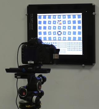 Macro test setup with high precision Multi-size SFRplus