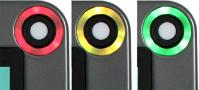 LED indicator montage