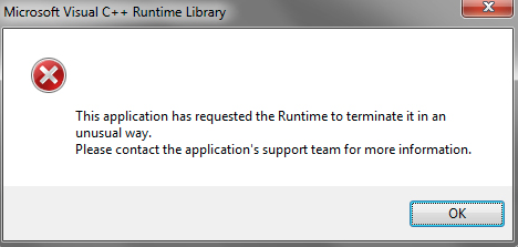 UnusualRuntime
