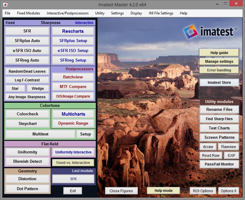 Imatest 4.2