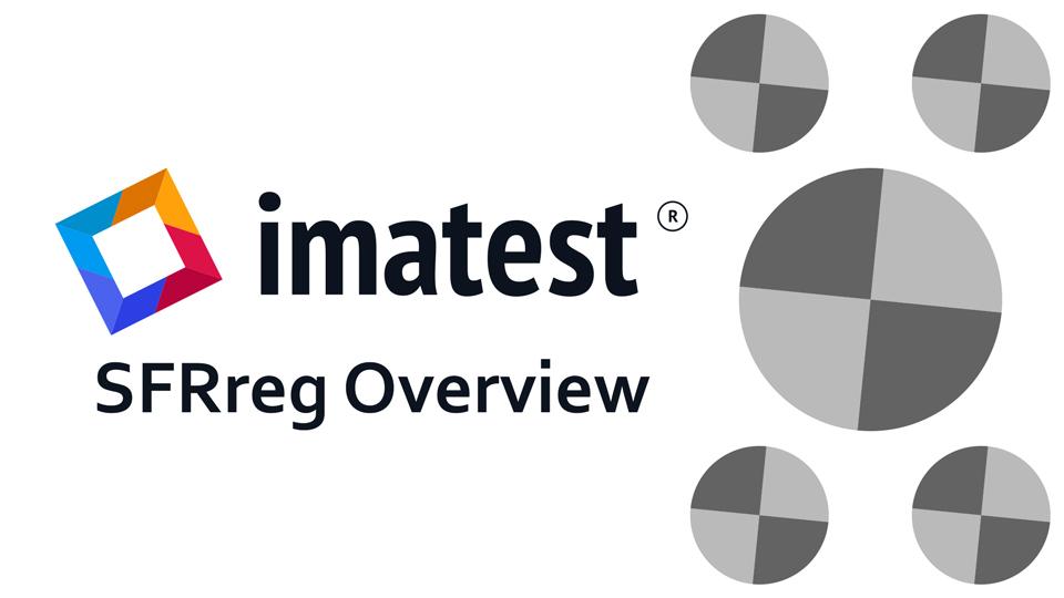 Imatest SFRreg Overview