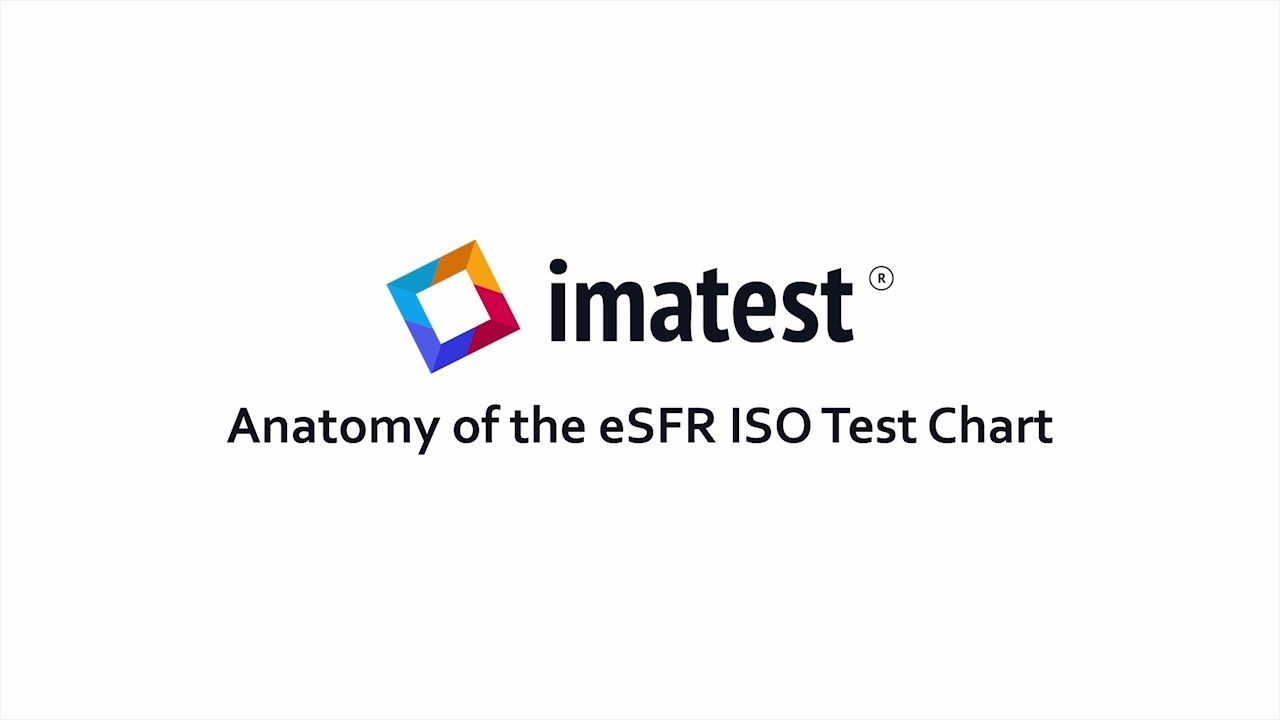 Anatomy of the eSFR ISO Test Chart