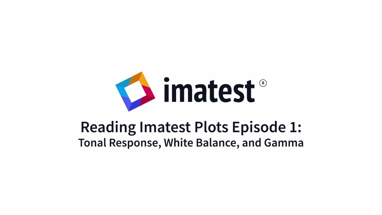 Reading Imatest Plots: Tonal Response, White Balance, and Gamma