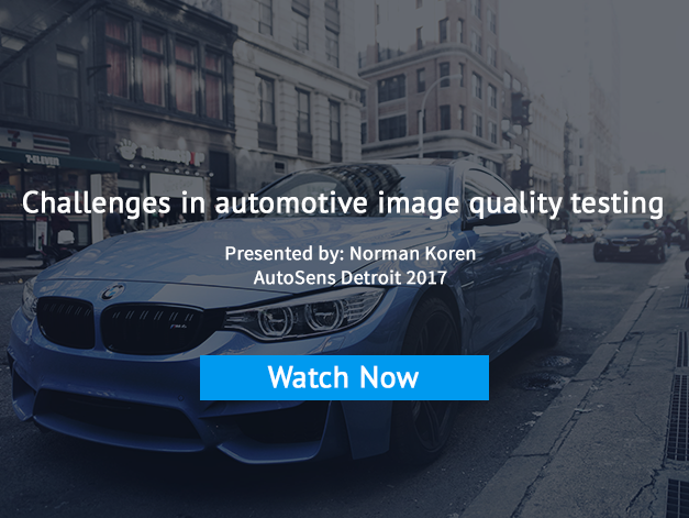 Challenges in Image Quality Testing - Watch now