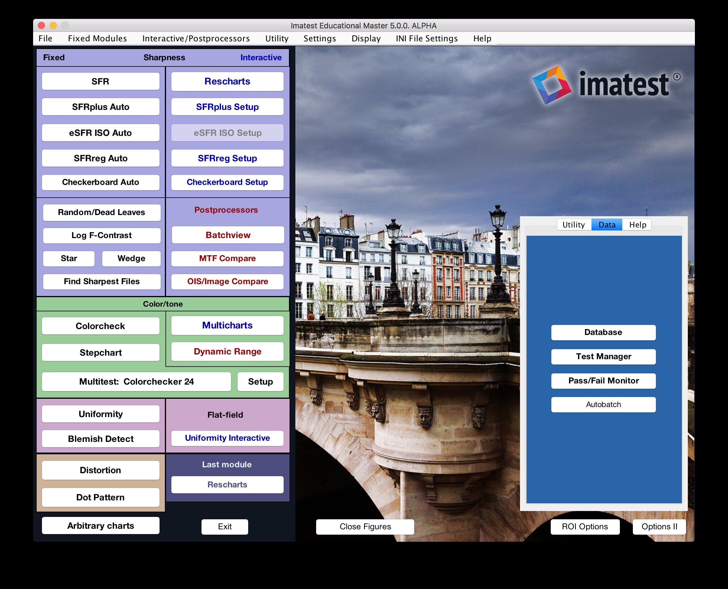 Reports | imatest