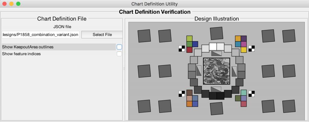 Chart Definition Utility | imatest