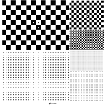 Micro Multi-Size Dot Pattern and Checkerboard