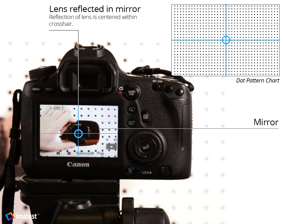 camera alignment for image quality testing