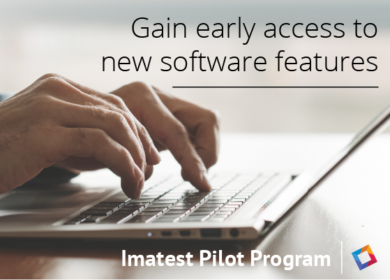 Imatest software testing program for early access - Pilot Program