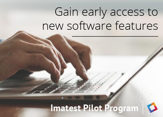 Imatest software testing program for early access - Pilot Program